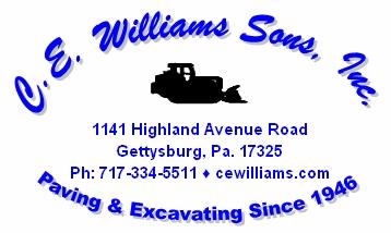 C.E. Williams Sons Inc.
