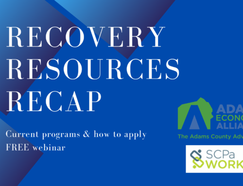 "Press Release: Alliance Invites Businesses, Organizations to Free Webinar, ""Recovery Resources Recap"""